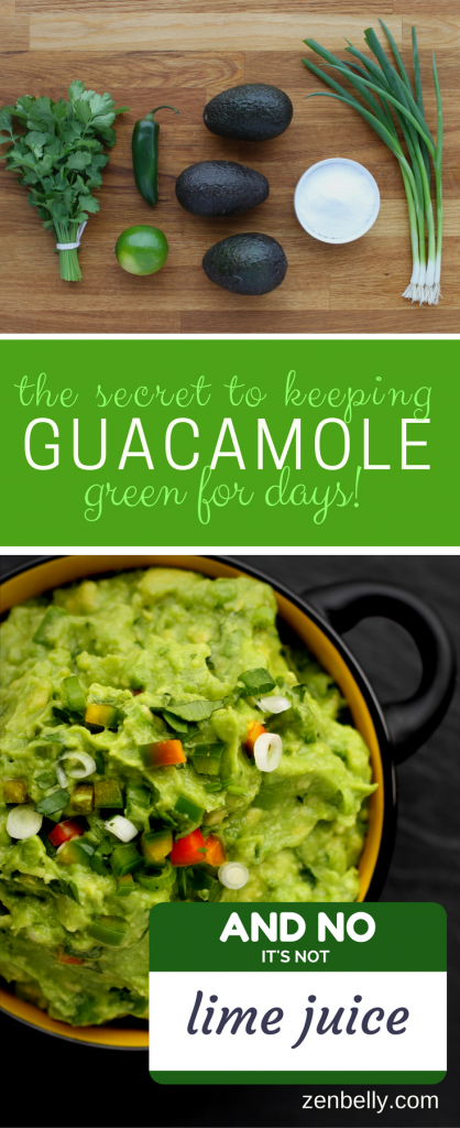 never browns guacamole