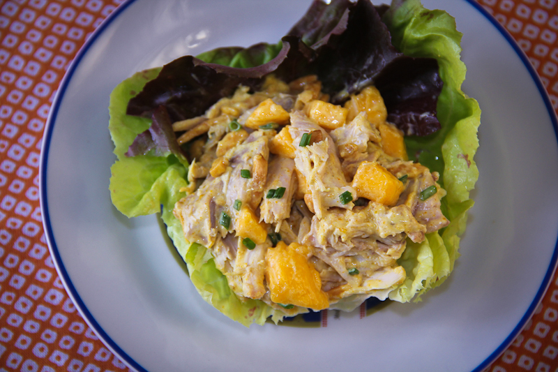 Curry Mango Chicken Salad