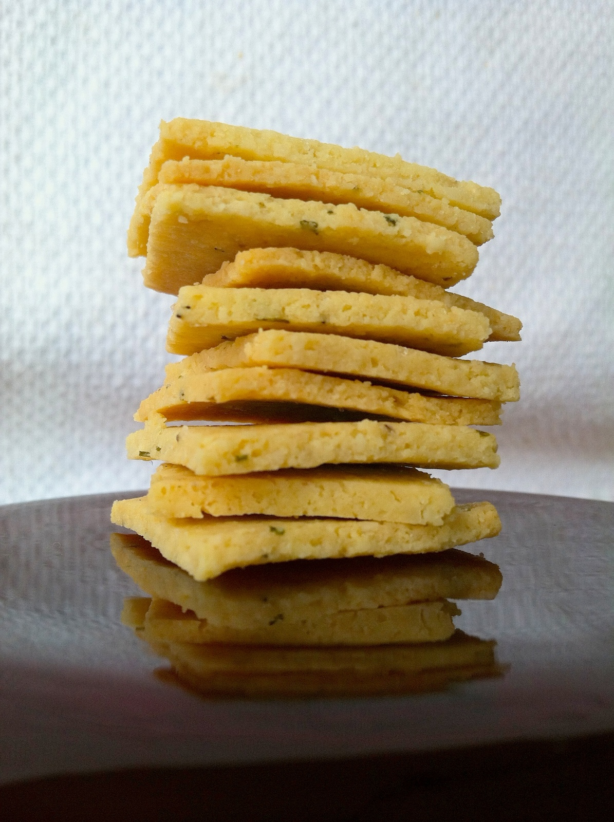 Grain-Free Rosemary Olive Oil Crackers