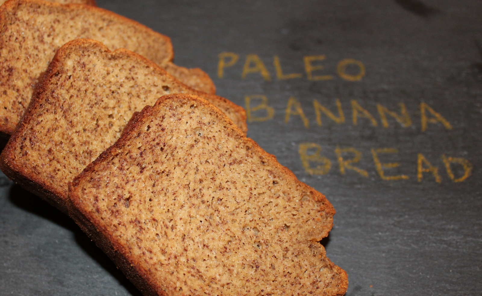 Paleo Banana Bread (sweetener-free)