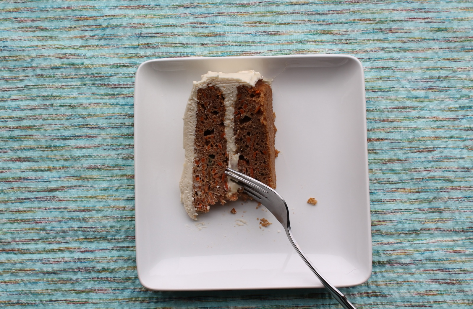 Carrot Cake (aka birthday cake for weirdos who don't prefer chocolate cake.)