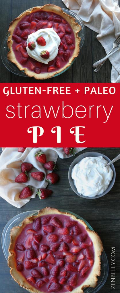 paleo strawberry pie