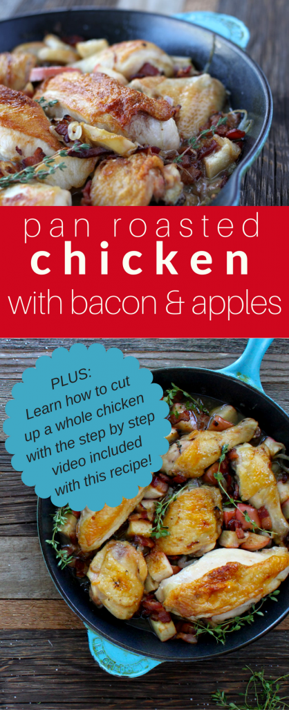 chicken with bacon and apples