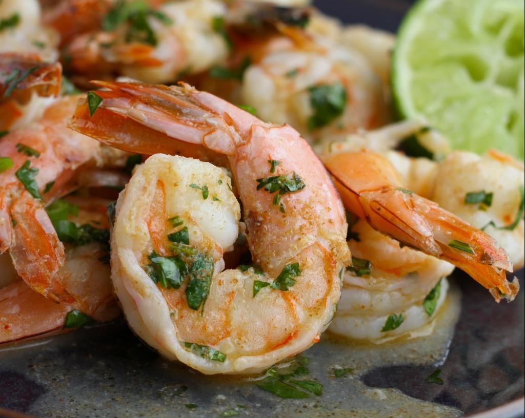 paleo cilantro lime shrimp