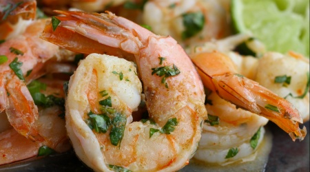 Cilantro-Lime Roasted Shrimp