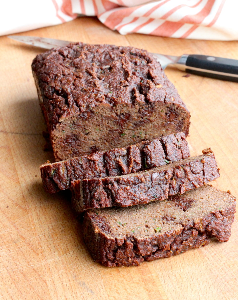 DSP chocolate zucchini bread