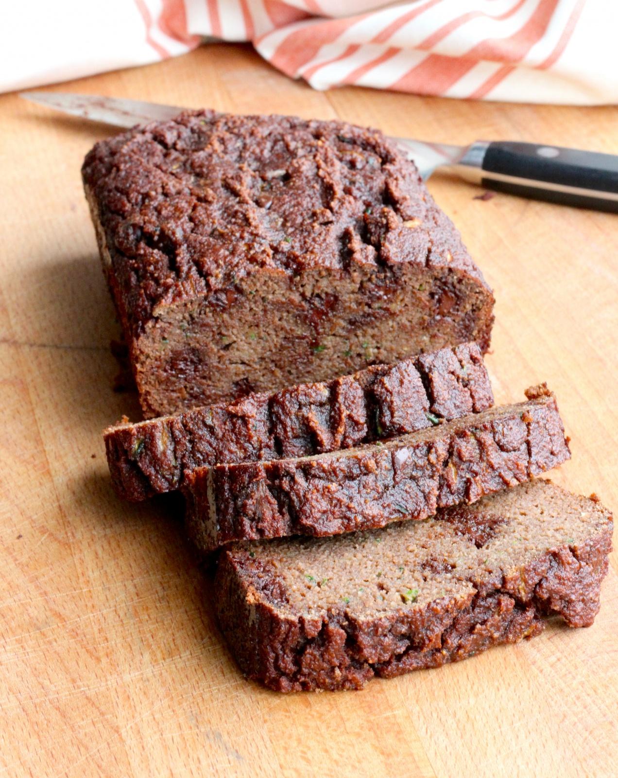 Grain-Free Chocolate Zucchini Bread from Down South Paleo