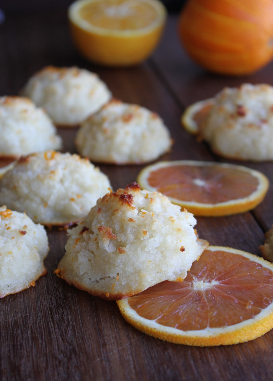 The new yiddish kitchen sneak peek creamsicle macaroons for Cuisine yiddish