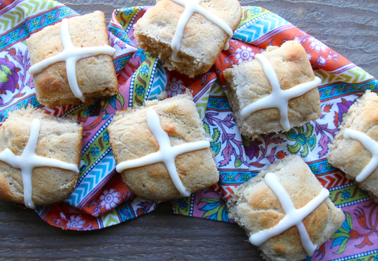 Grain-Free Hot Cross Buns