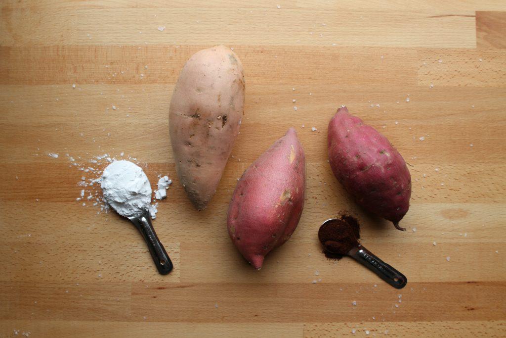 crispy sweet potato oven fries