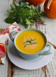 paleo thai pumpkin soup