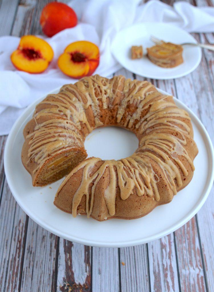 earl-grey-peach-cake