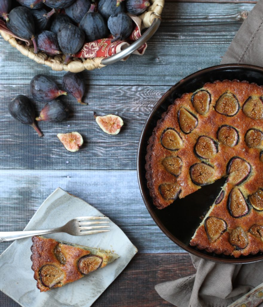 paleo fig and almond cake