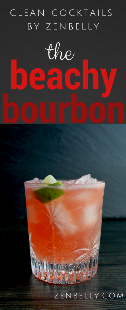 beachy bourbon cocktail