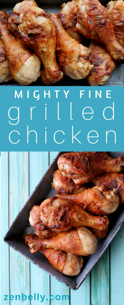 mighty fine grilled chicken