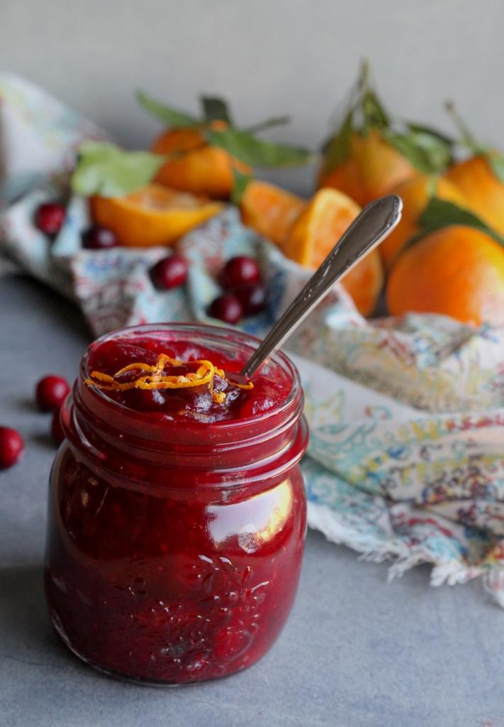 paleo cranberry sauce