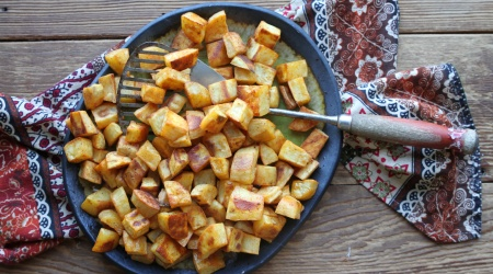 Smoky Roasted Sweet Potatoes