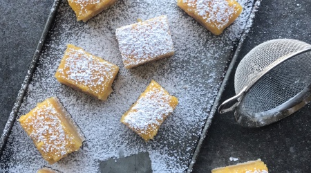 Lemon Bars (Paleo & Nut-Free )