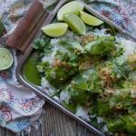 green coconut salmon