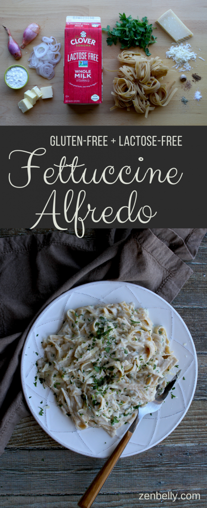 gluten-free lactose-free fettuccine alfredo