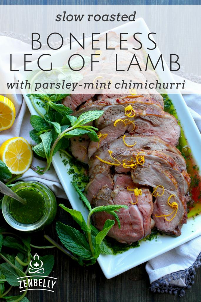 boneless leg of lamb