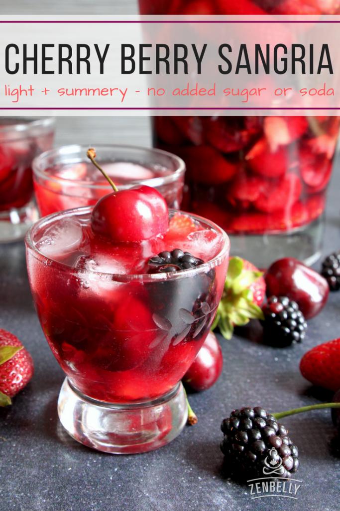 cherry berry sangria