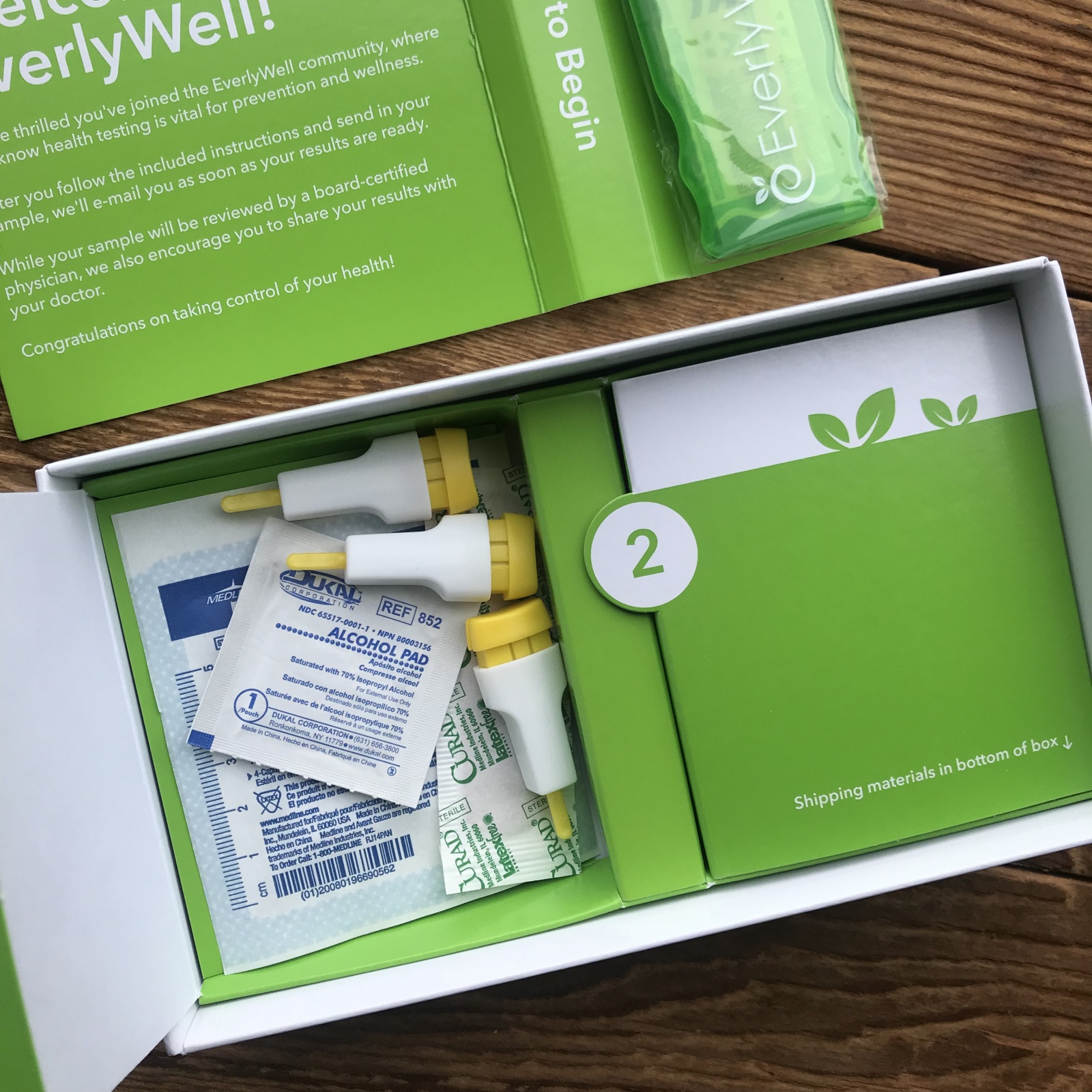 everlywell at home food sensitivity test