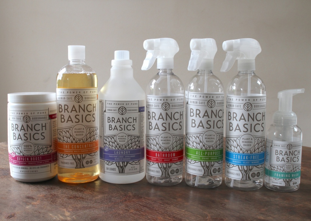branch basics natural cleaning products