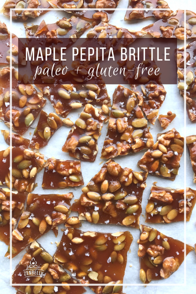 maple pepita brittle