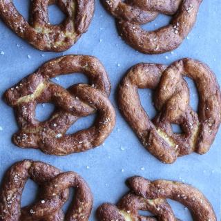 paleo soft pretzels