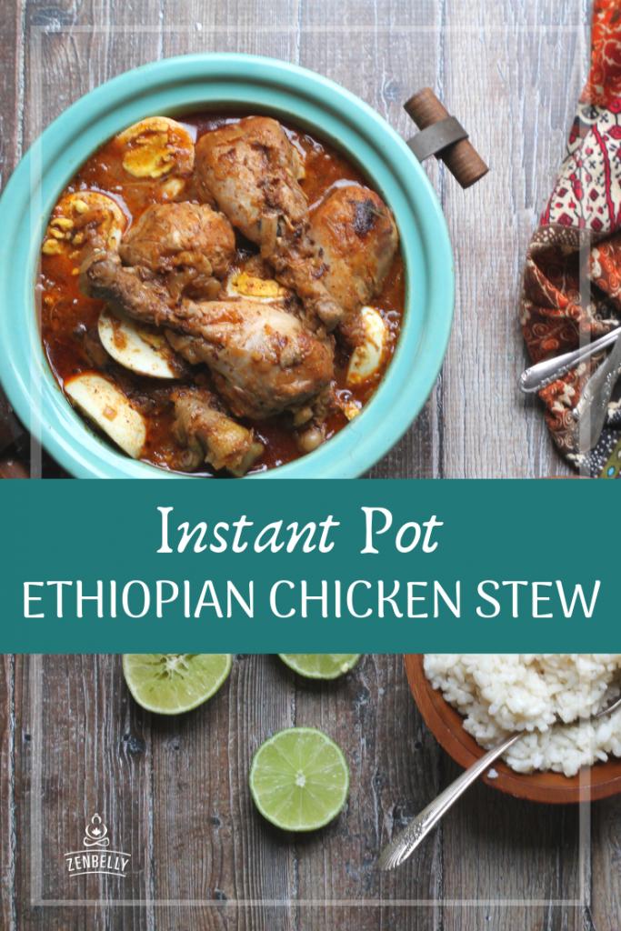 instantpot ethiopian chicken stew