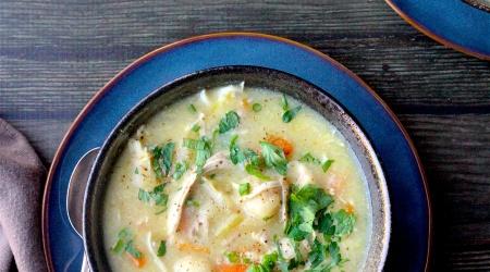 Instant Pot Chicken & Dumplings (paleo, gluten-free, dairy-free)