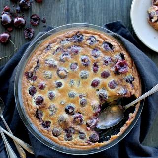 cherry clafoutis glutenfree