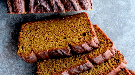 Brown Butter Bourbon Pumpkin Bread