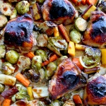sheet pan balsamic chicken