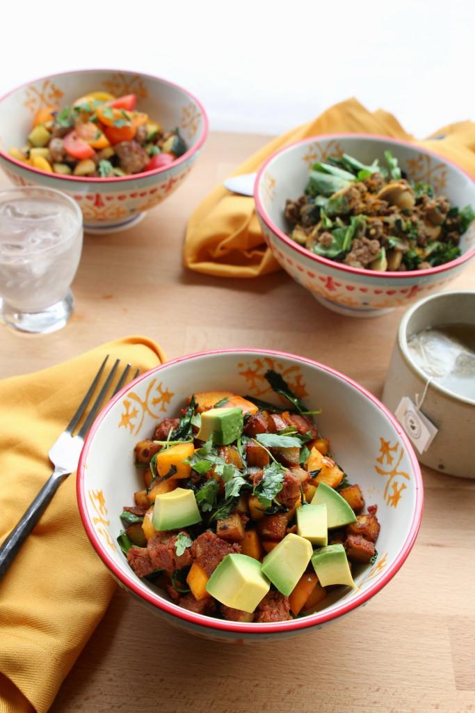 egg-free paleo breakfast bowls