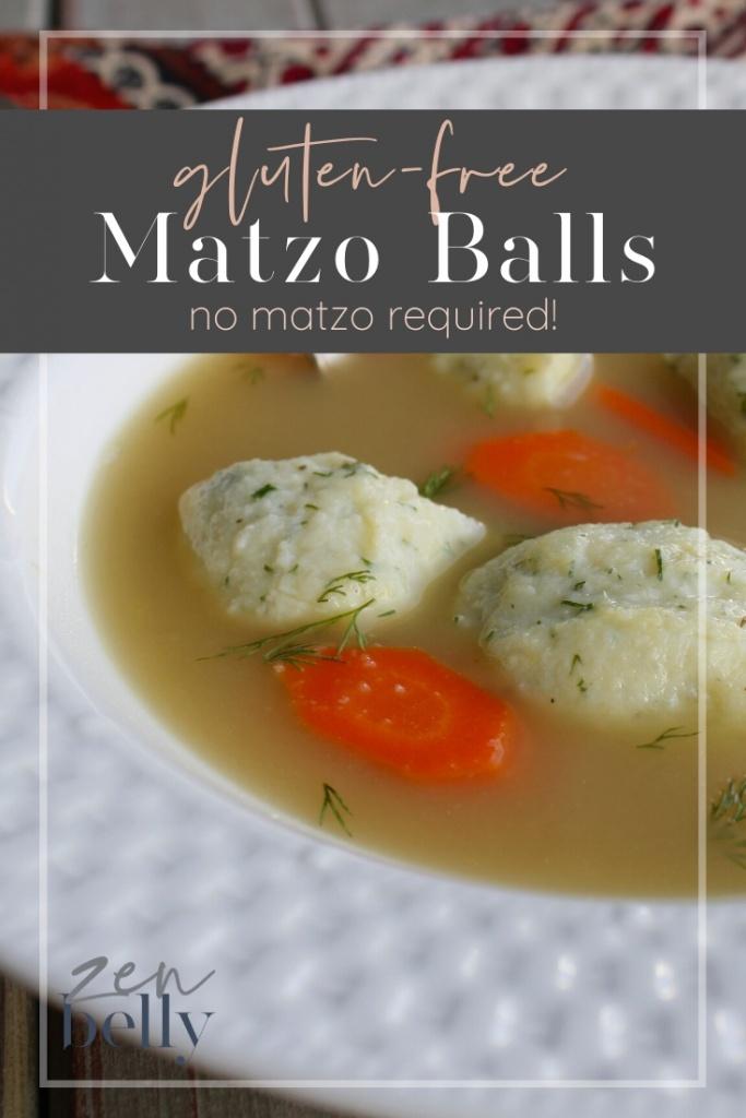 gluten-free matzo bal