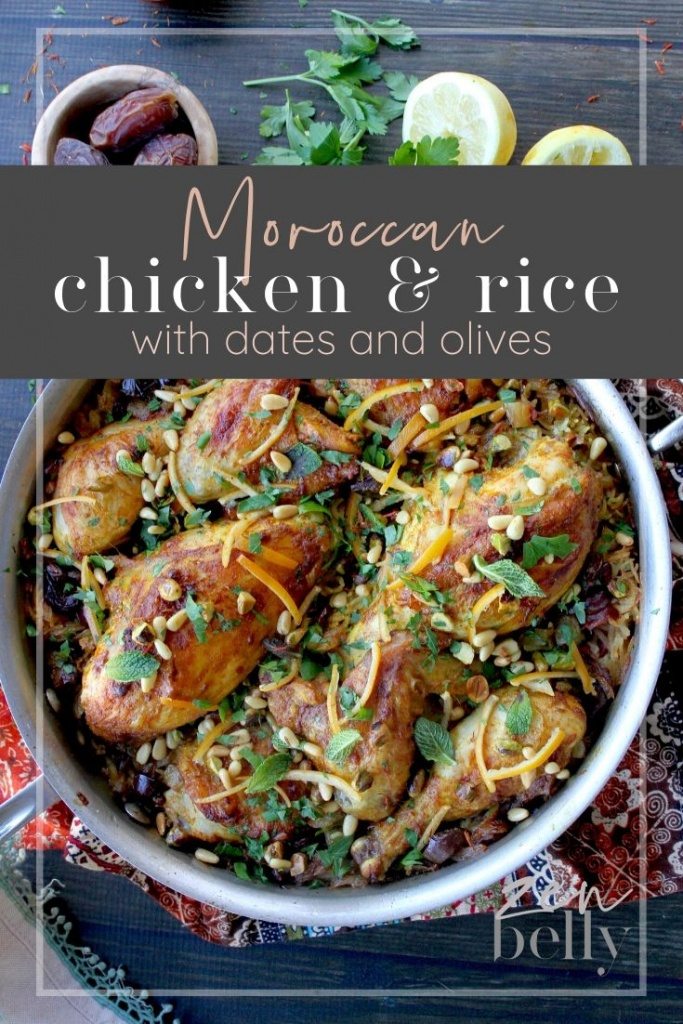 moroccan chicken and rice