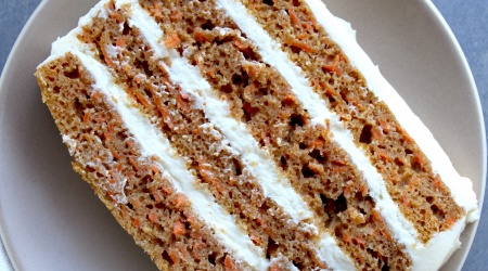 Really Excellent gluten-free Carrot Cake