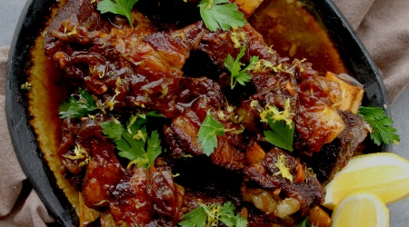 pressure cooker honey balsamic short ribs