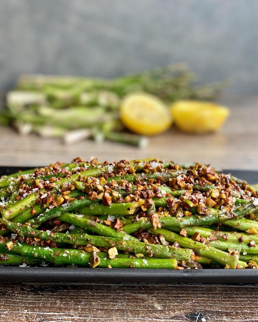 pencil-thin asparagus