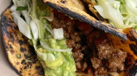 quick & easy spicy lamb tacos