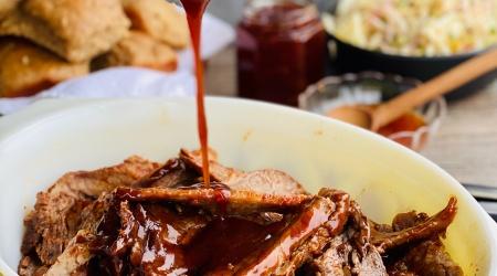 Instant Pot BBQ Brisket – tender + delicious in 60 minutes